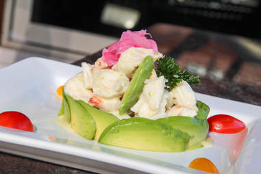 Crab salad at House 34, Dallas TX