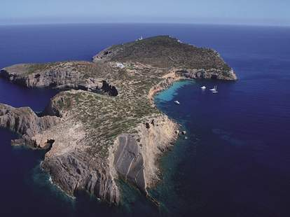 Tagomago Island, private, Ibiza, Spain, lighthouse, La Casa