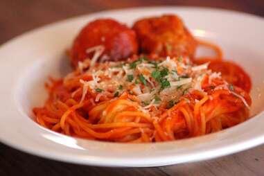 Tinello Rudy's Red spaghetti
