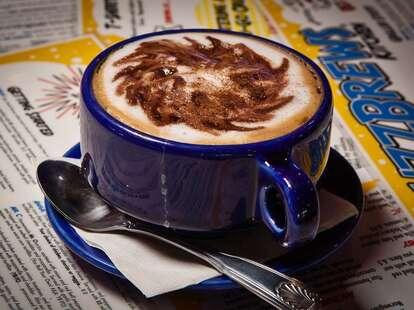 Coffee at BuzzBrews