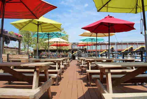 Morgan's Pier patio