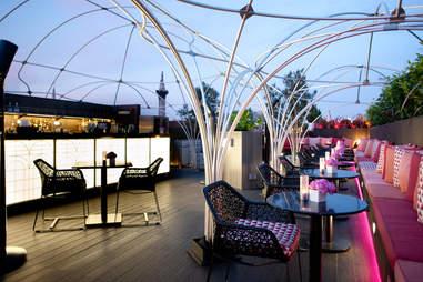 patio at Vista in London