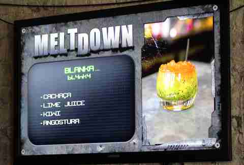 meltdown menu