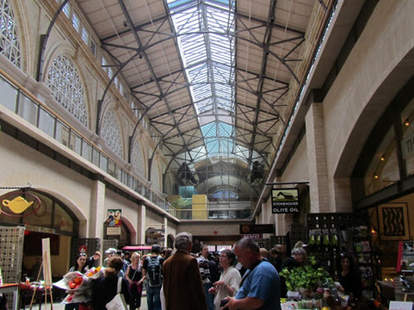 Inside Ferry Market Building