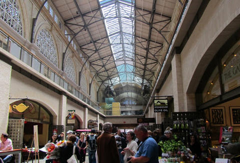 Inside Ferry Market Building