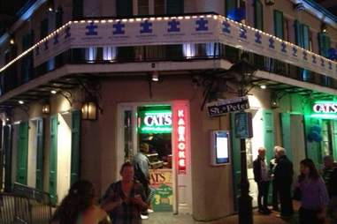 Exterior of the Cat's Meow in New Orleans