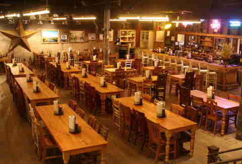 Interior of Hill Country Barbecue in Washington, DC