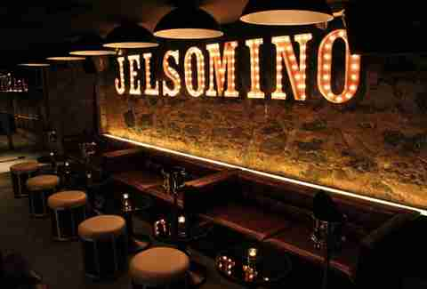 Interior of Jelsomino in New York