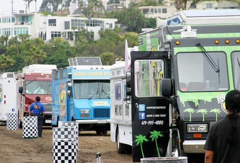 Del mar fairgrounds food truck rally