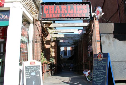 Charlie's Kitchen: A Boston, MA Bar.