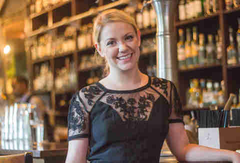 Shelly Lashley, front of house manager at Peche