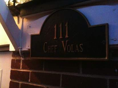 Atlantic City, restaurant, Chef Vola's, private, no menu, family dinner