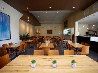 Kingsbury Street Cafe interior