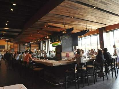 City Tap House bar area Philadelphia