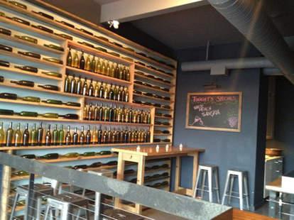 Interior at Dickson Wine Bar