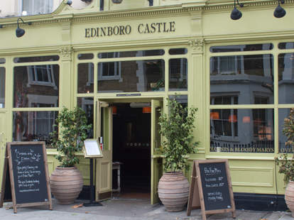 Edinboro Castle exterior camden london