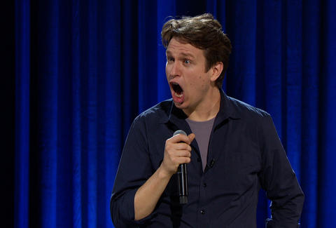Comedian Pete Holmes at Just For Laughs at Up Comedy Club