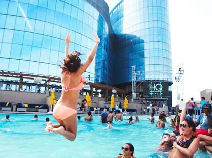 HQ Beach Club at Revel pool