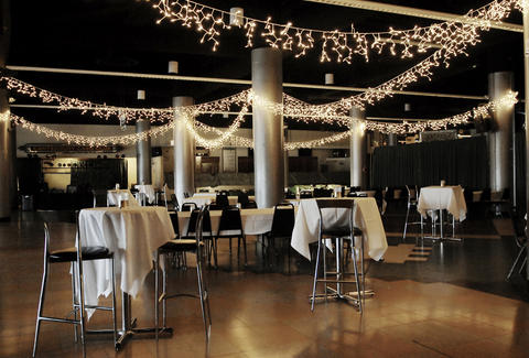 One of the event spaces at Canterbury Park