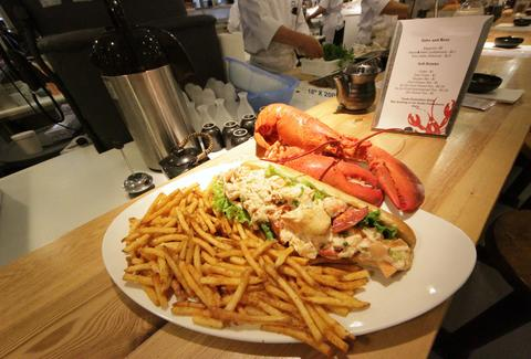 Footlong Lobster Roll