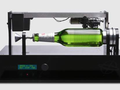 Beck's playable beer bottle