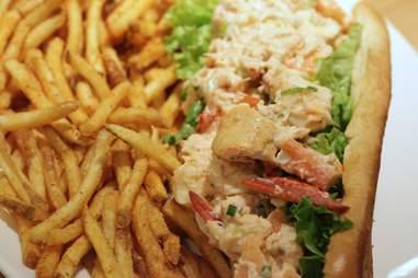 Footlong Lobster Roll Closeup