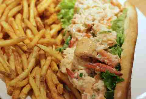 Footlong Lobster Roll Closeup