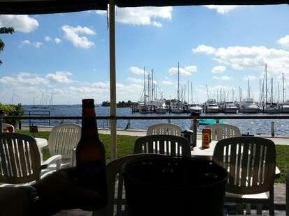 Scotty's Landing view of marina