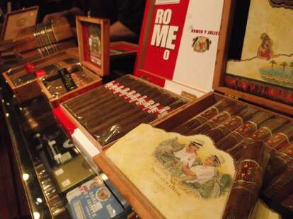 Rich's Cigar Store selection