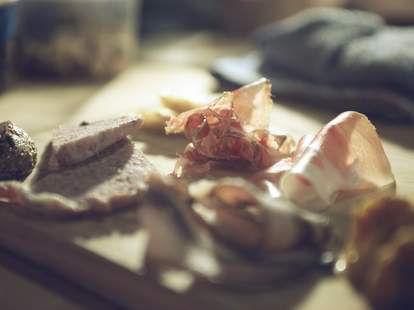 Ned Ludd charcuterie and cheese plate portland