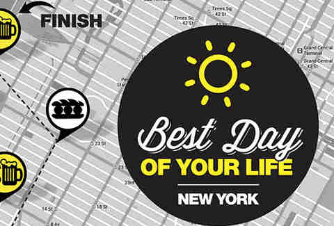 Best Day of Your Life -- New York