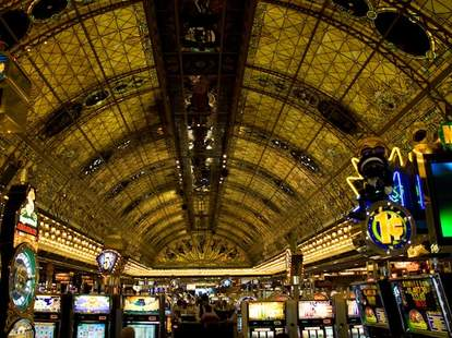 Entrance to Tropicana Casino
