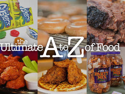 The Ultimate A to Z of Food