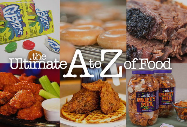 From astronaut ice cream to Zingers: the Ultimate A to Z of Food