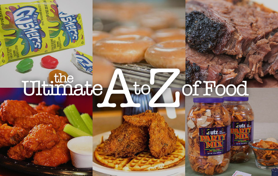 Ultimate A to Z of Food Thrillist