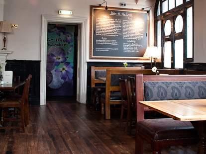 The Eagle UK Interior