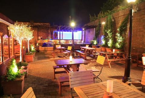 The Blind Beggar Patio UK