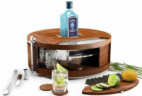 Gin Wheel fully open