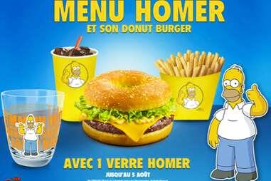 Menu Homer