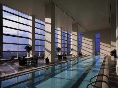 Pool at the Water Club in Atlantic City