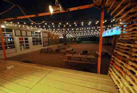 The outdoor area at The Foundry