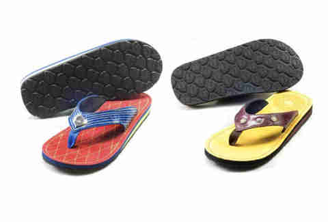 Battle ready flip-flops