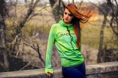 A hot lady in Radiate Athletics