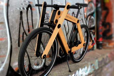 A tasty looking sandwich bike