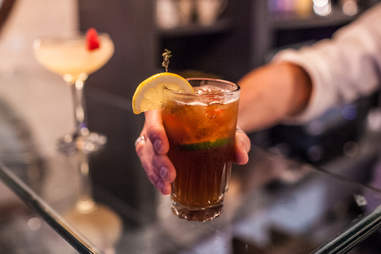 Drinks at Mercat, Dallas TX