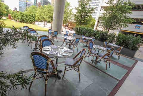 Patio at Mercat, Dallas TX