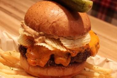 Michael Mina's Pub 1842 -- Peanut Butter Crunch Burger