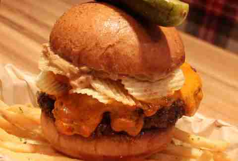 Michael Mina's Pub 1842 -- Peanut Butter Crunch Burger