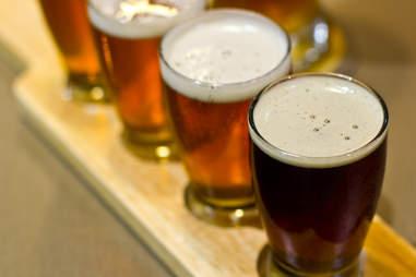 Brunswick's - beer flights