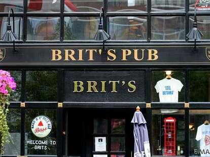 The front of Brit's Pub